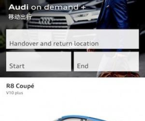A Pechino basta un'app e guidi l'Audi che vuoi