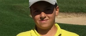 Il palermitano Gabriele Costanzo primo nell'individuale al Trofeo Coni di Golf