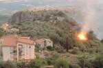 Incendi, sui Nebrodi altra notte di fuoco