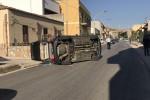 Drammatico incidente a Valderice, l'auto si ribalta: muore bimbo di 5 anni