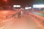 Palermo, auto si ribalta in viale Regione: illeso il conducente