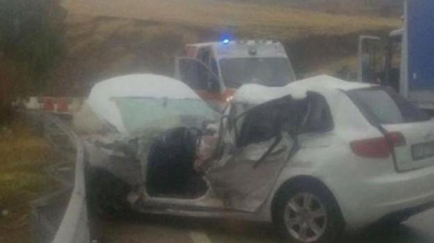 Incidente a Riesi, Caltanissetta, Cronaca