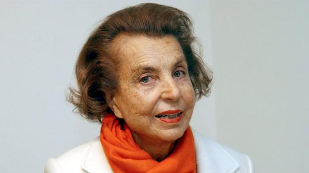 donna più ricca del mondo, erede l'oreal, Liliane Bettencourt, Sicilia, Mondo