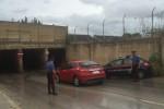 Temporale a Siracusa, strade allagate e tombini scoperchiati