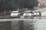 Violento acquazzone nella notte a Palermo, case e strade allagate