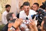 """Renzi a Ragusa: """"Micari poco conosciuto? Segno che è la vera novità"""""""