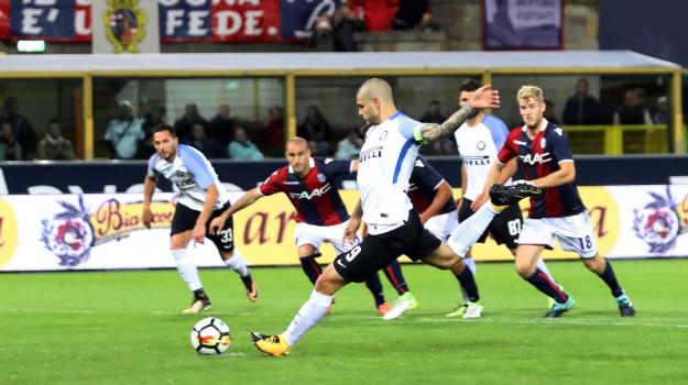 Bologna-Inter, calcio serie a, Sicilia, Sport