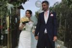 Da Londra a Scopello per il fatidico «sì»: le nozze da favola di Tiziana e Kieron