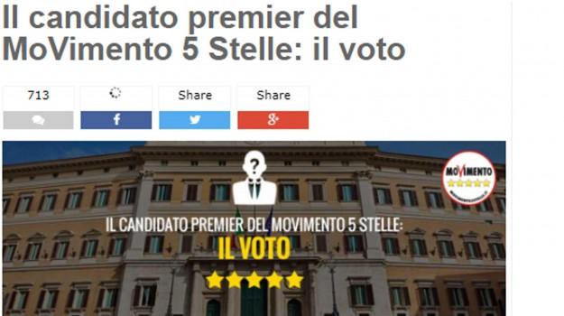 primarie m5s, Sicilia, Politica