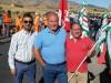 Protesta contro i licenziamenti, operai bloccano la Palermo-Agrigento