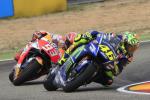 Aragon, vince Marquez: show di Rossi, chiude quinto