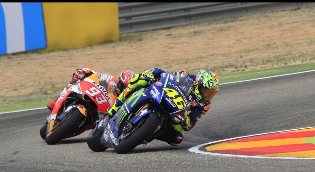 Valentino Rossi parte per Aragon Proverà a correre la gara di domenica