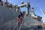 Sbarco di 234 migranti a Pozzallo, fermati i due presunti scafisti