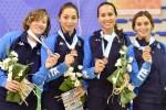 Mondiali militari di scherma, ancora tre medaglie per l'Italia