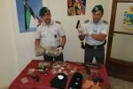 Droga e armi in un borsone, due arresti a Catania