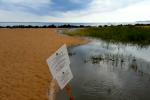 Il maltempo fa danni a San Leone, le immagini dei liquami che finiscono in mare