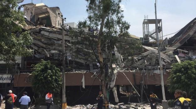terremoto in messico, Sicilia, Mondo