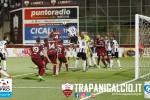 Trapani-Sicula Leonzio, tre pali per i granata ma derby senza gol