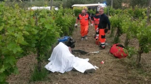 Agricoltore morto santa croce camerina, Ragusa, Cronaca