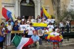 Palermo, venezuelani rendono omaggio ai morti nelle manifestazioni contro Maduro