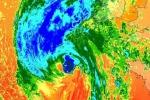 L'uragano Ophelia punta verso Nord, sta per indebolirsi