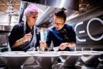 Italia e Sud Corea, incontro cucine con chef Bowerman e Kim