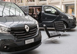 Trafic Space Class, la business lounge secondo Renault