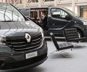 Trafic Space Class, la business lounge secondo Renault
