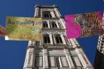 'Saluti da Firenze'con graffiti virtuali