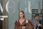 Lauren Hutton, 75 anni in copertina su Vogue Italia, è la mia più importante