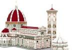 Modello Duomo e Battistero Firenze costruiti in Lego