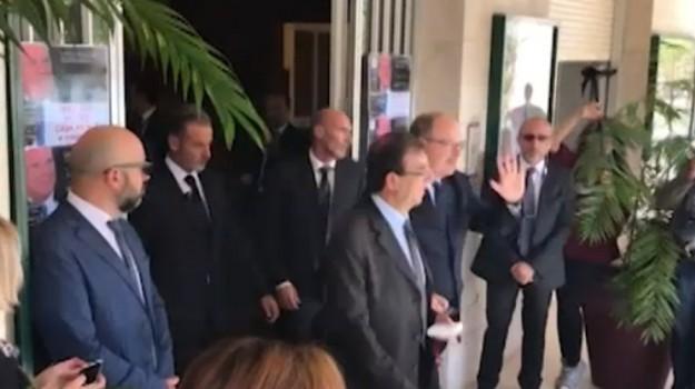 A lui una laurea honoris causa, la visita di Alberto di Monaco a Palermo