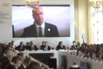 """Osce a Palermo, Alfano: """"La prosperità mondiale dipende dal Mediterraneo"""""""