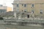 """Lastre di amianto """"oscurano"""" Palazzo Lucatelli a Trapani"""