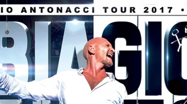 concerto acireale antonacci, tour musica antonacci, Biagio Antonacci, Catania, Cultura