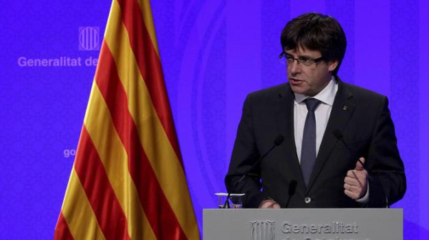 indipendenza catalogna, referendum catalogna, Carles Puigdemont, Mariano Rajoy, Sicilia, Mondo