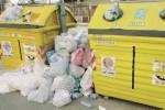 Strapieni i cassonetti della raccolta differenziata, a Messina monta la protesta
