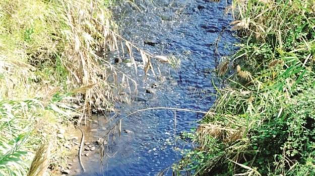inquinamento fiume, Agrigento, Cronaca