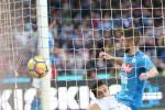 I tre gol del Napoli al Sassuolo, le immagini della partita