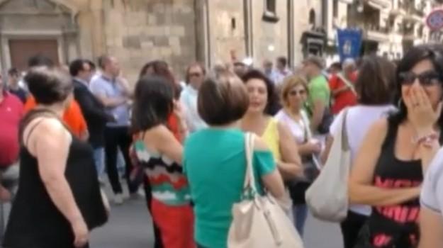 Regione, nuova protesta dei precari siciliani in vista delle elezioni