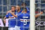 Sampdoria, cinque reti e il Crotone è ko: le immagini della partita