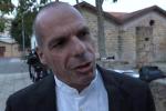L'ex ministro delle Finanze greco, Yanis Varoufakis, a Palermo