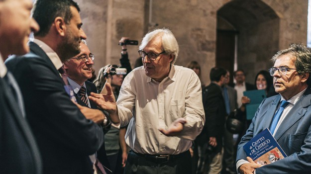 catania castello ursino, tesori nascosti sgarbi, Antonio De Caro, Enzo Bianco, Orazio Licandro, Vittorio Sgarbi, Catania, Cultura