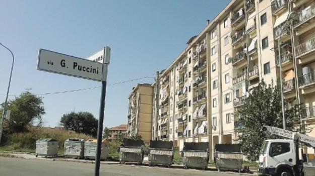 case via puccini, Caltanissetta, Cronaca