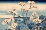 Katsushika Hokusai Il Fuji da Gotenyama presso Shinagawa sul T?kaid?, dalla serie Trentasei vedute  del monte Fuji, 1830-1832 circa Silografia policroma Kawasaki Isago no Sato Museum