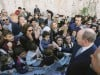 Folla a Modica per accogliere Alberto di Monaco