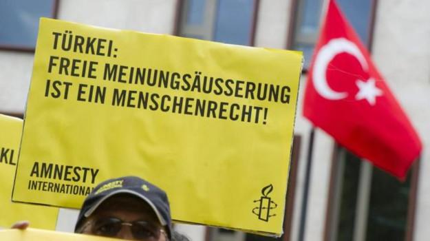 Amnesty International, processo amnesty turchia, Sicilia, Mondo
