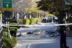Attacco a New York, furgone travolge i ciclisti: almeno 8 morti e 15 feriti Il sindaco: è terrorismo, atto codardo