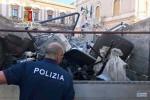 Sequestrati due autocarri colmi di materiale ferroso a Caltanissetta, 3 denunciati