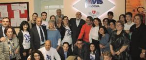 Nicosia, l'Avis festeggia 25 anni